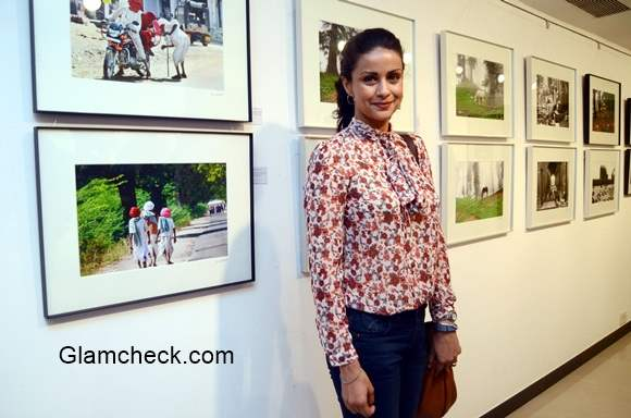 Gul Panag at The Melted Core exhibition Launched by Nisheeth Bhatt