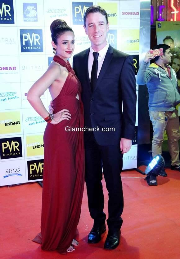 Ileana DCruz with her boyfriend Andrew Kneebone
