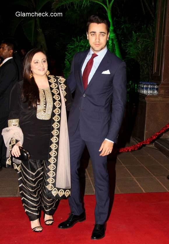 Imran Khan along with his wife Avantika Malik Khan