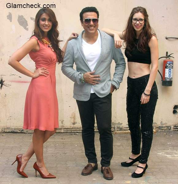 Kalki Govinda and Ileana at a press conference for film Happy Ending