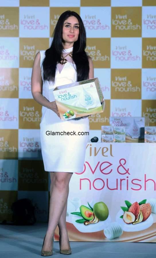 Kareena Kapoor Launches ITC Vivel Love Nourish range