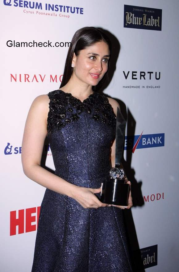 Kareena Kapoor at HELLO Hall of fame awards 2014