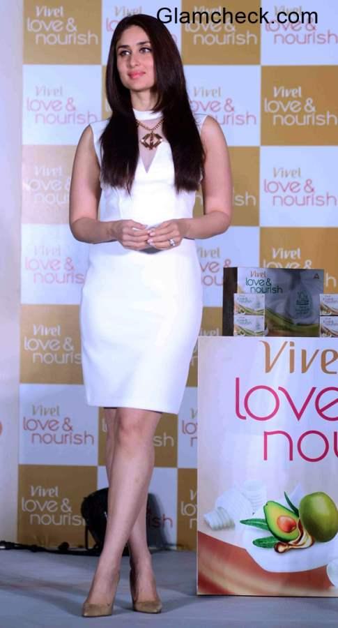 Kareena Kapoor at the launch of ITC Vivel Love Nourish range