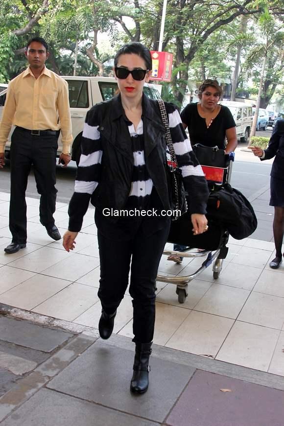 Karisma Kapoor at Mumbai Airport