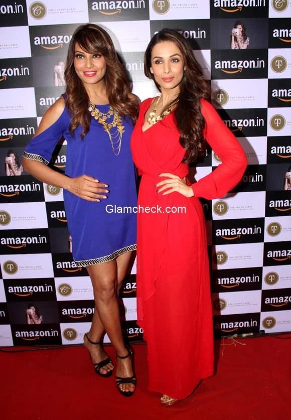 Mailaika Arora Bipasha Basu Announce Amazon.in and The Label Corp Exclusive Partnership pics