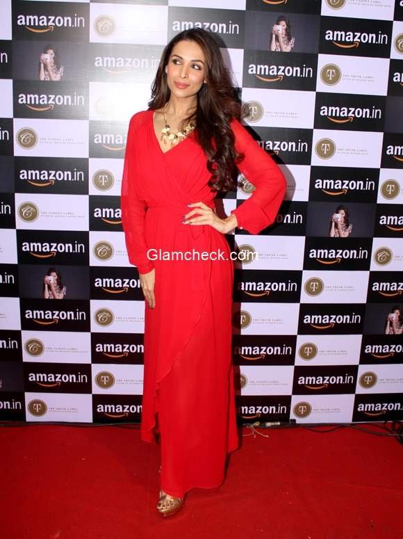Mailaika Arora Khan in Red Gown