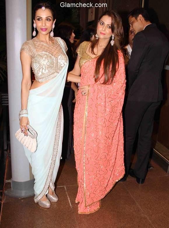 Malaika Arora Khan with her sister Amrita Arora