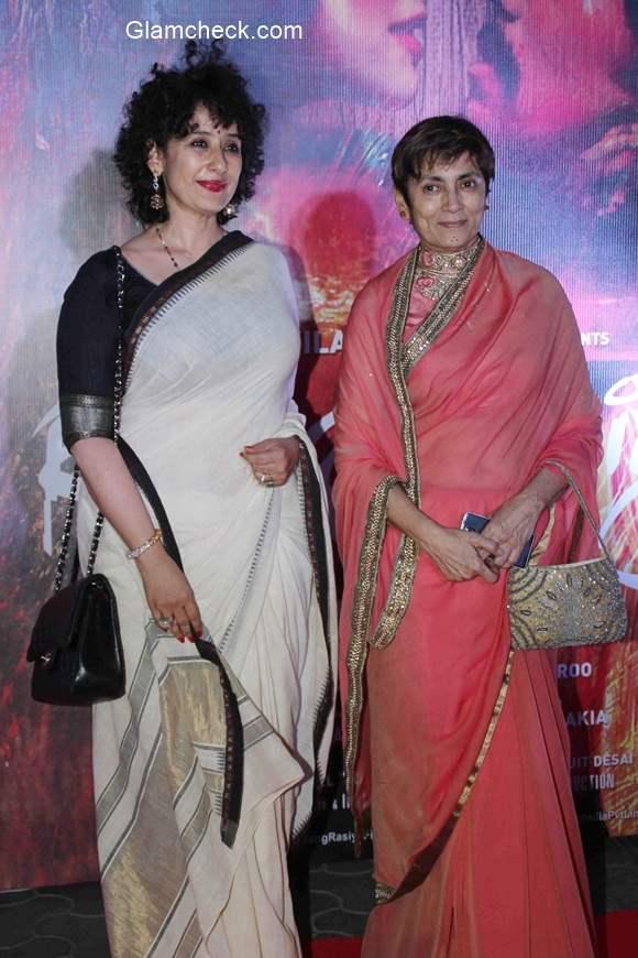 Manisha Koirala during the screening of film Rang Rasiya in Mumbai