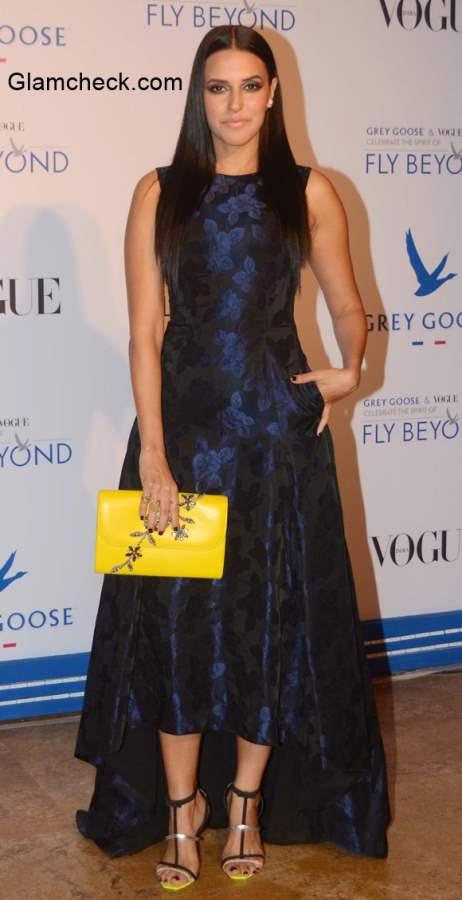 Neha Dhupia at Grey Goose Fly Beyond Awards 2014