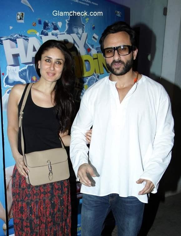 Saif and Kareena 2014