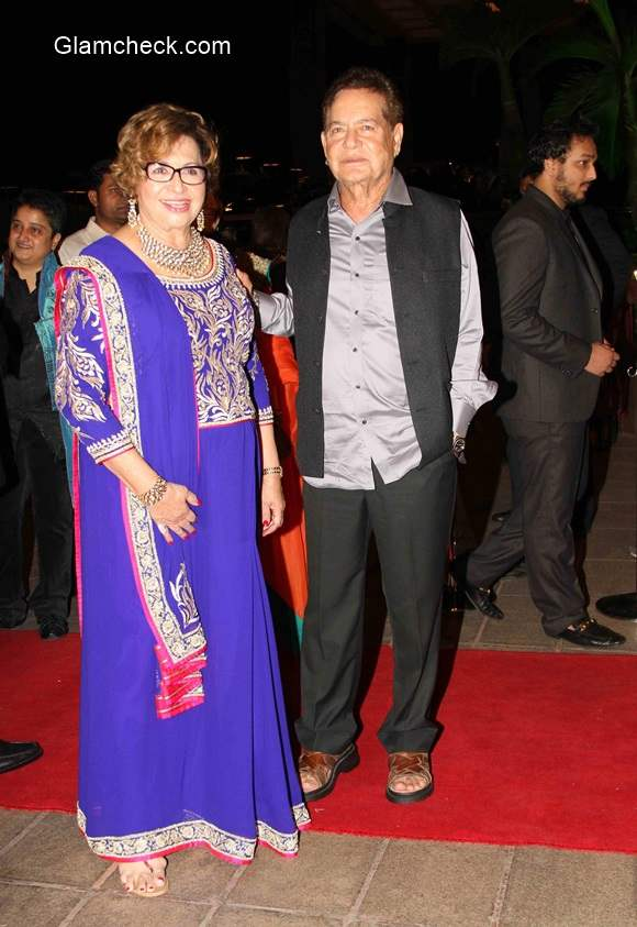Salim Khan and Helen