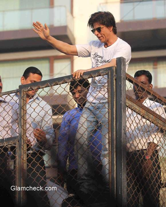 Sharukh Khan 2014 Birthday pics