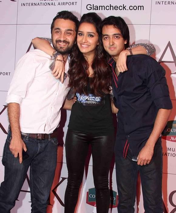Shraddha Kapoor and Siddhanth Kapoor Launch Mumbais ARK Lounge