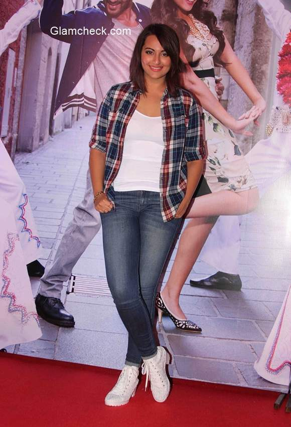 Sonakshi Sinha in film Action Jackson