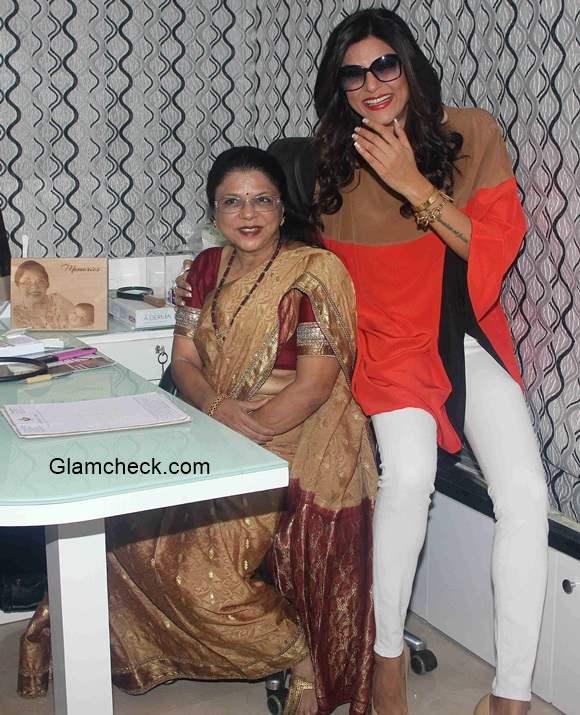 Sushmita Sen with Dr Shrilata Suresh Trasi