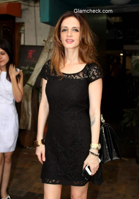Suzanne Khan at Mumbai Restaurant
