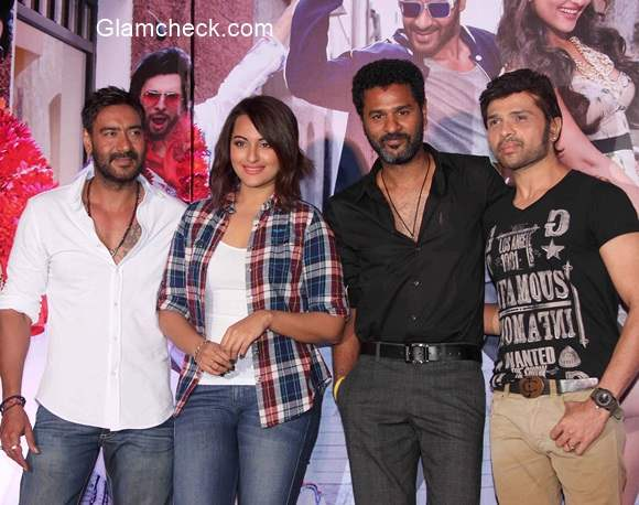 The Action Jackson team launches Keeda the first song of film Action Jackson