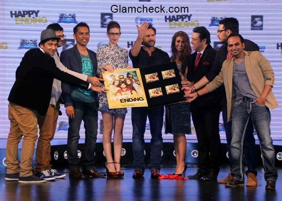 The music launch of film Happy Ending in Mumbai
