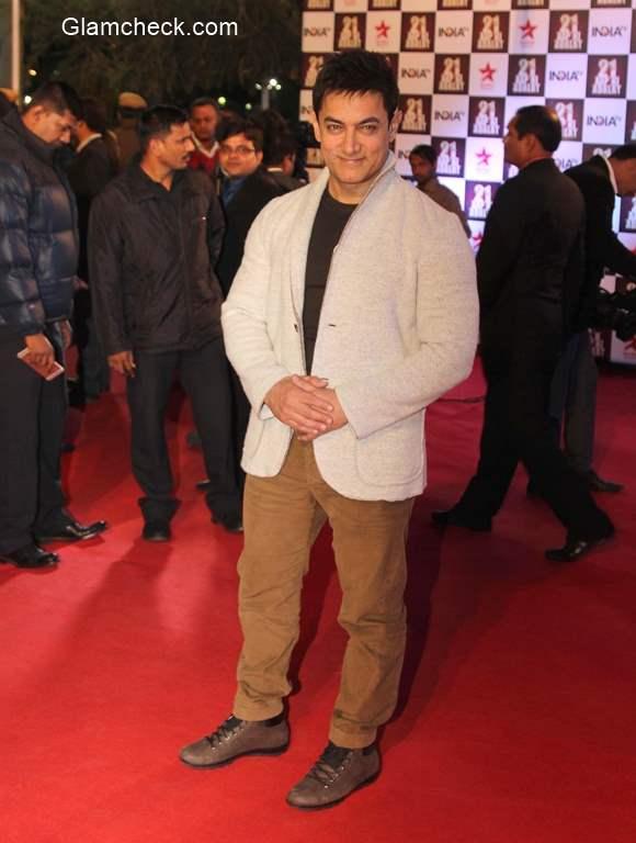 Aamir Khan at Aap Ki Adalat 21st anniversary
