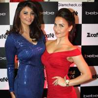 Daisy Shah and Elli Avram at the Sinful Night Out in Mumbai