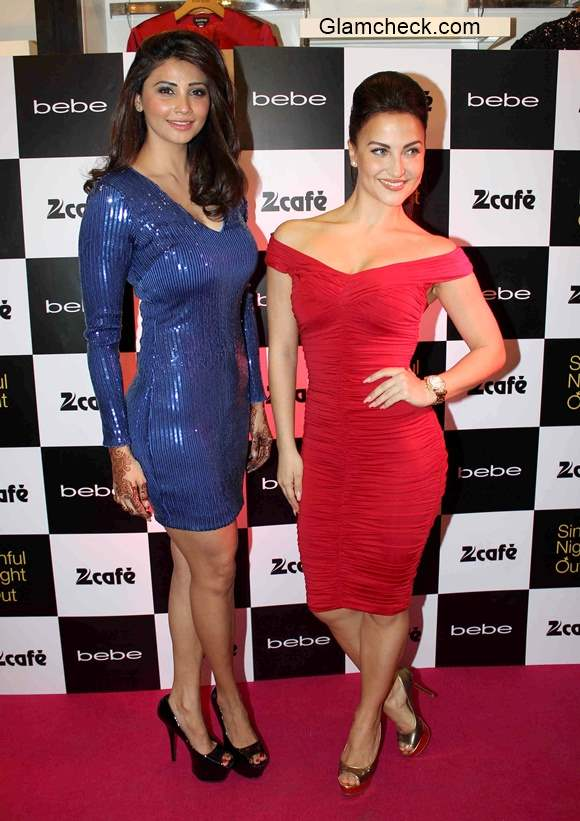 Daisy Shah and Elli Avram glams up the Sinful Night Out in Mumbai