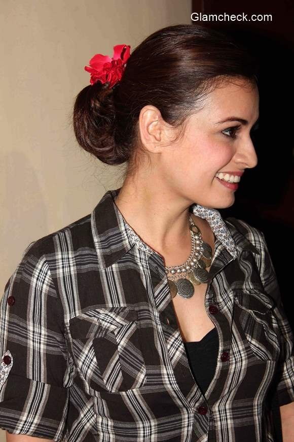 Dia Mirza during the premiere of film Ugly