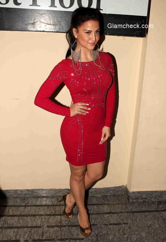 Elli Avram during the premiere of film Ugly