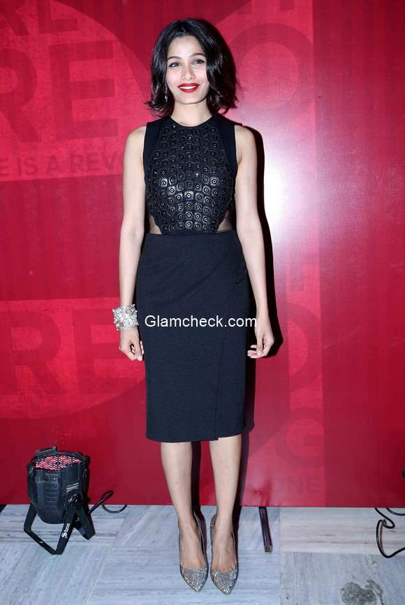 Freida Pinto at the launch of Girl Rising Global campaign for Girls education