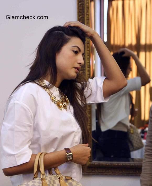 Gauhar Khan Media Interaction regarding attack on her during Indias RAW star