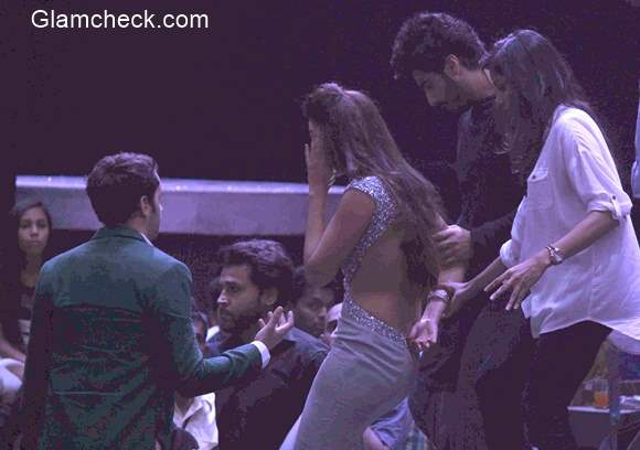 Gauhar Khan gets molested and slapped by a man from the audience