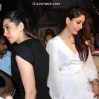 Karisma and Kareena Kapoor attends Midnight Mass with Babita on Christmas Eve
