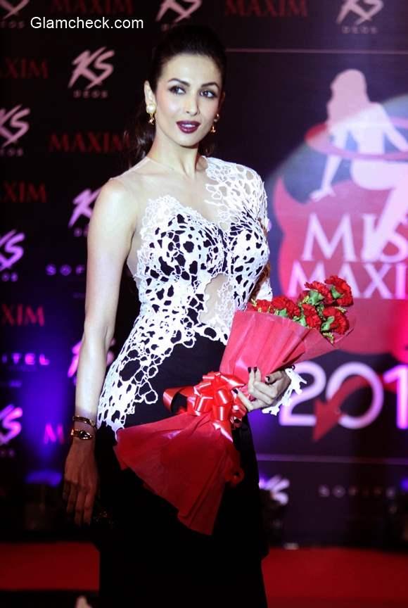 Malaika Arora Khan at the grand finale of Kama Sutra Miss Maxim 2015