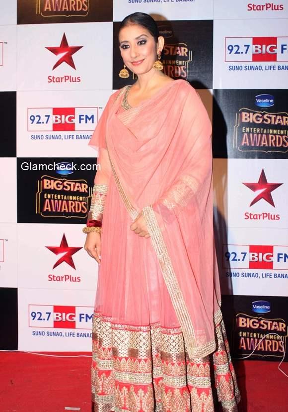 Manisha Koilara at Big Star Entertainment Awards 2014