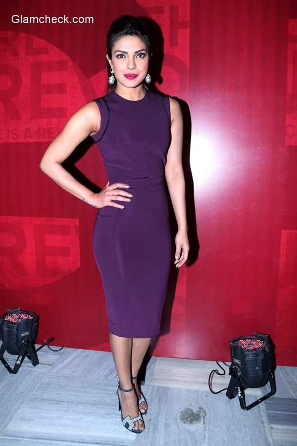 Priyanka Chopra at the launch of Girl Rising Global campaign for Girls education