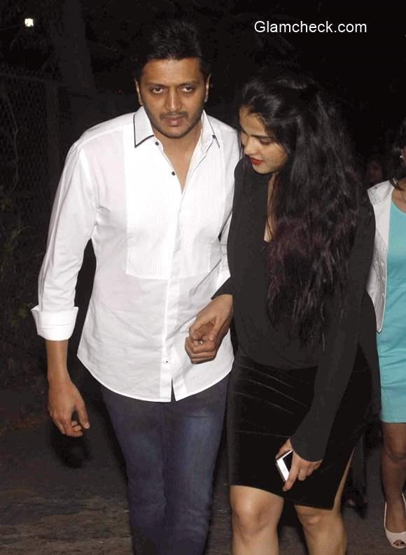 Riteish Deshmukha and Genelia DSouza pics
