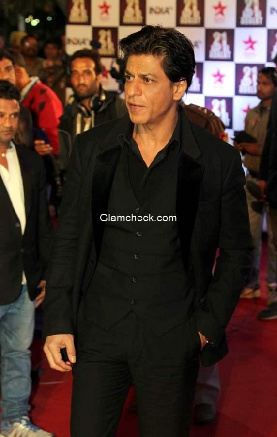 Shahrukh Khan at Aap Ki Adalat 21st anniversary