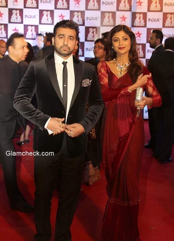 Shilpa Shetty with her husband Raj Kundra