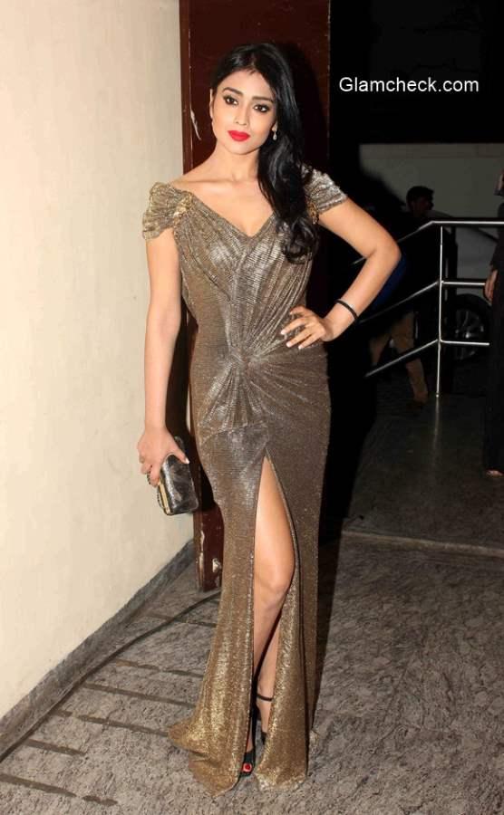 Shriya Saran during the premiere of film Ugly