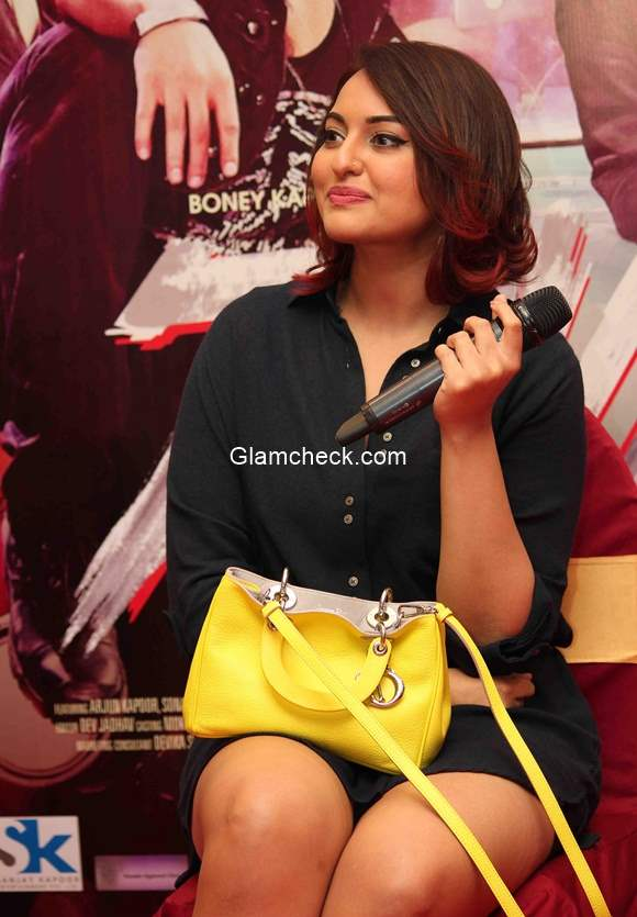 Sonakshi Sinha chic new hairstyle