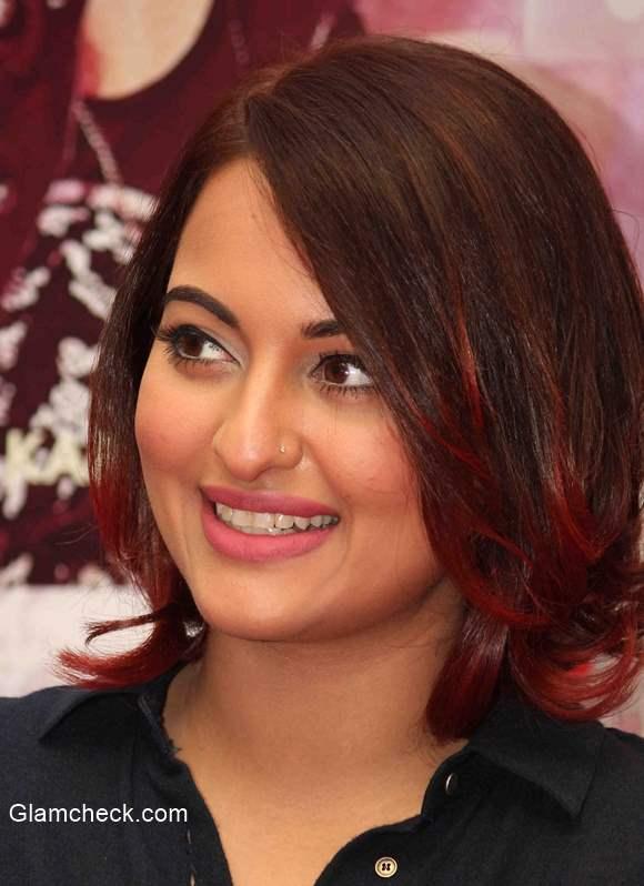 Sonakshi Sinha new hairstyle bob