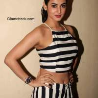 Sonal Chauhan during the premiere of film Ugly