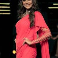 Sushmita Sen for Shiven and Naresh during Blenders Pride Fashion Tour 2014