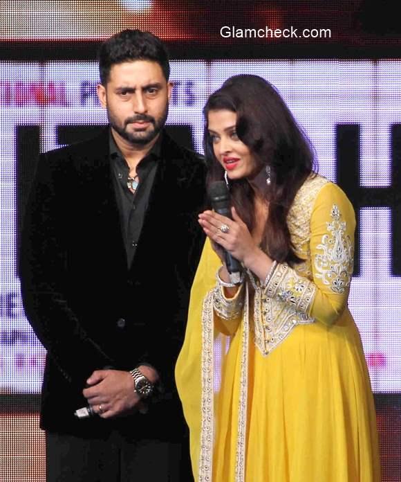 Aishwarya Rai and Abhisekh Bachchan 2015