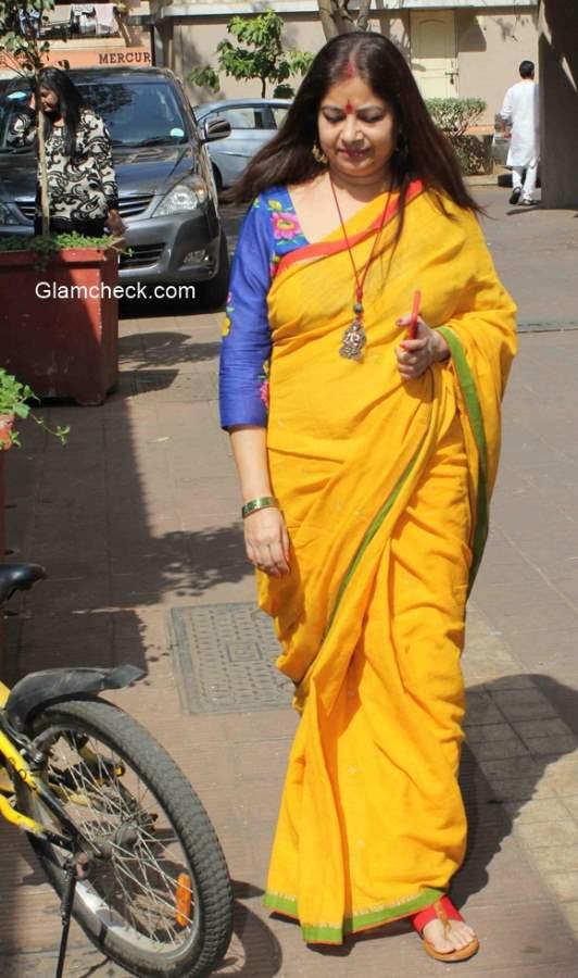 Bollywood singer Rekha Bhardwaj