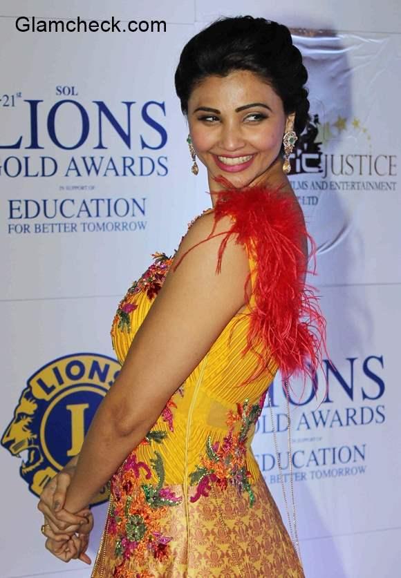 Daisy Shah at the Lions Gold Awards 2015
