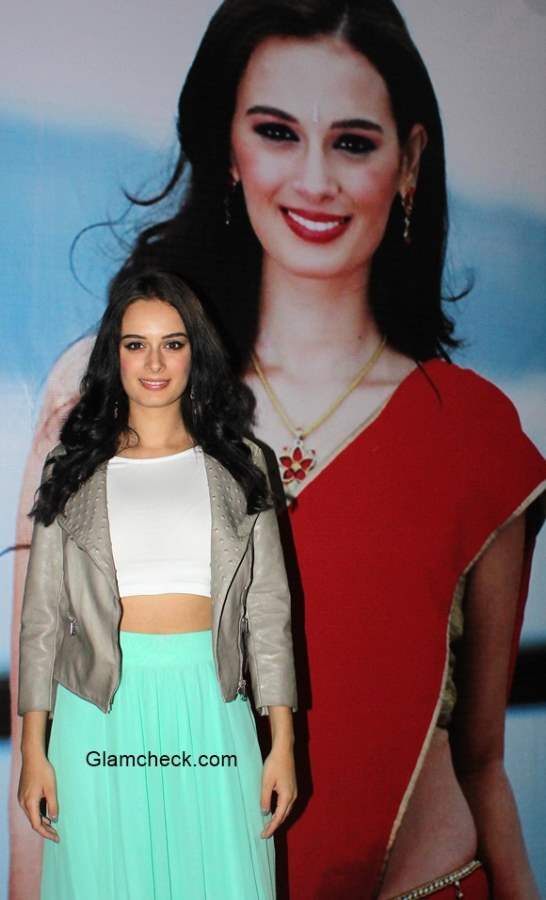 Evelyn Sharma Style at the quarter finals of the All India University Basketball tournament