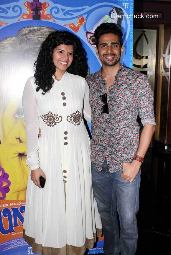 Gulshan Devaiya and Veera Saxena at the trailer launch of film Hunterrr