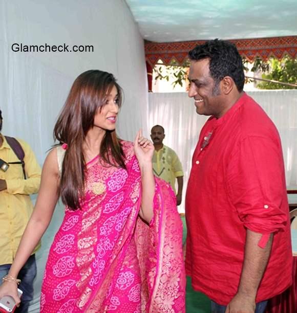 Ileana DCruz and filmmaker Anurag Basu