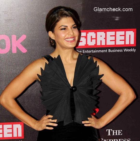 Jacqueline Fernandez 2015 at the 21st Annual Life OK Screen Awards