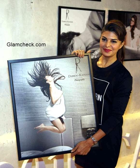 Jacqueline Fernandez attends the launch Dabboo Ratnani 2015 calendar